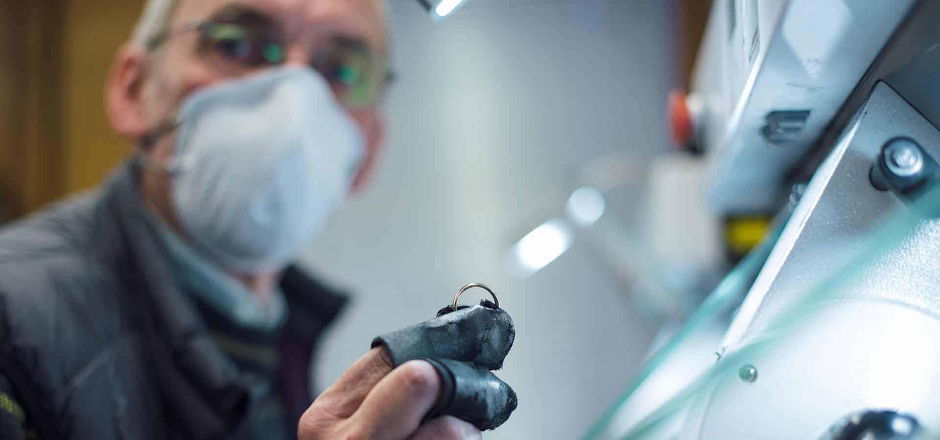 Merkle Ringe und Schmuck Manufaktur Ringoberflächen