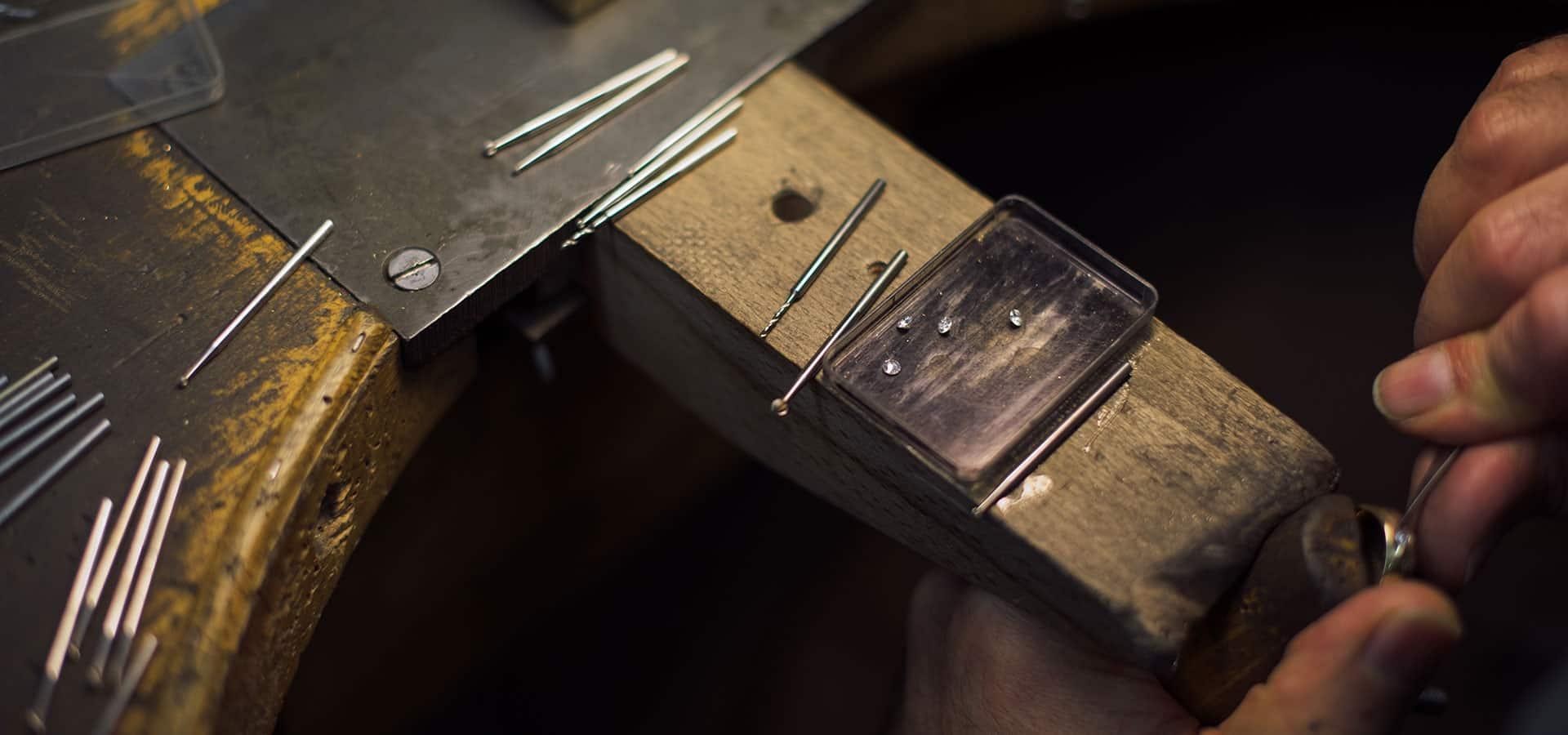 Merkle Ringe und Schmuck Materialien
