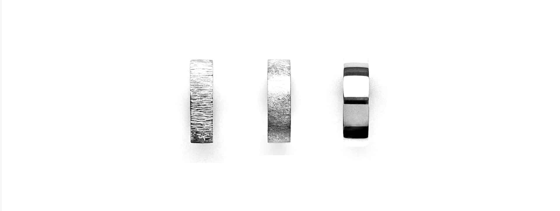 Merkle Ringe und Schmuck Ringoberflächen