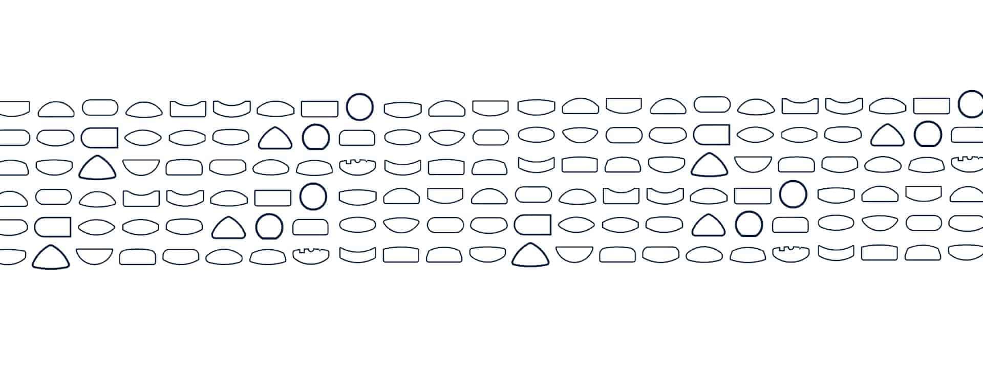Merkle Ringe und Schmuck Ringprofile